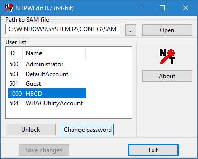 obnovení hesla