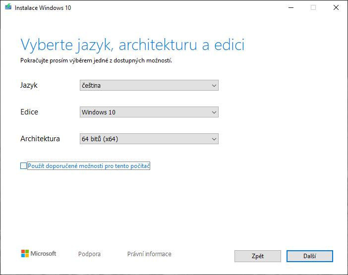 Stažení Windows 10 zdarma a legálně Návody pro Windows